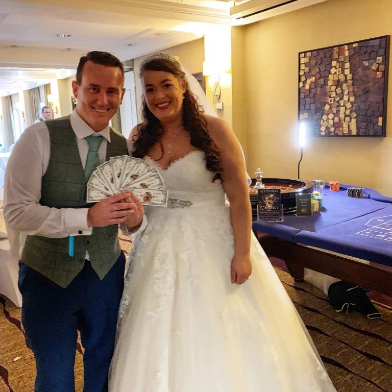 Ace Events Casino Hire Wedding