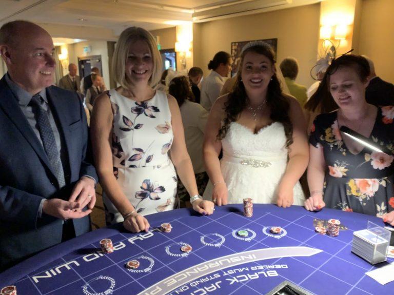 Ace Events Casino Hire Blackjack Wedding