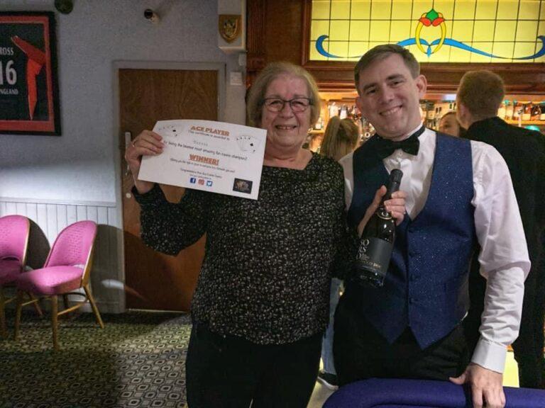 Ace Events Casino Hire Winner Certificate