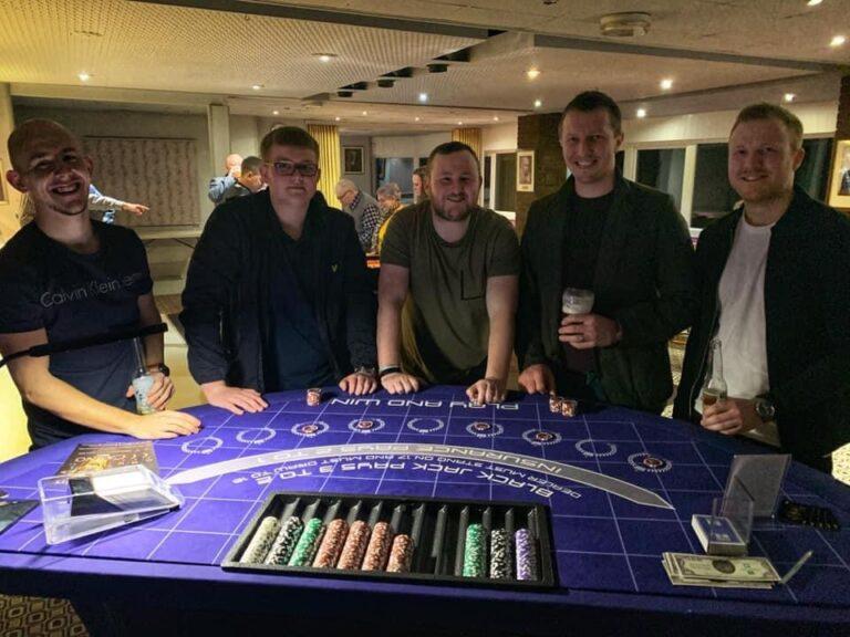 Ace Events Casino Hire Blackjack Table